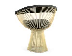 Platner Gold Plated Dining Table Hivemodern Com » Ideas Home Design