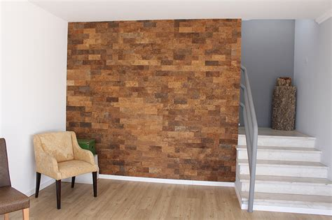 cork wall panels forna 7mm raw bark handmade