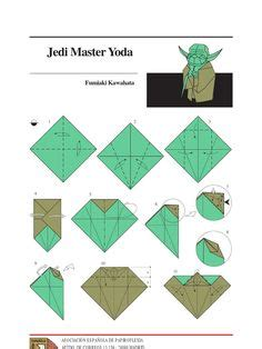 How To Make Origami Yoda - origami yoda 4 inventos diy