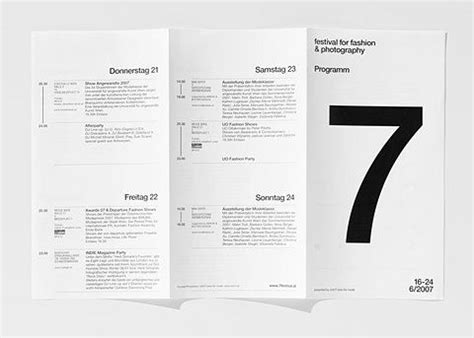 grid layout brochure grid based layout with helvetica design typography