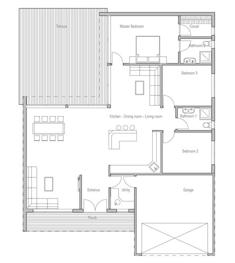 new home floor plans for 2013 contemporary home plan ch167 floor plans and details