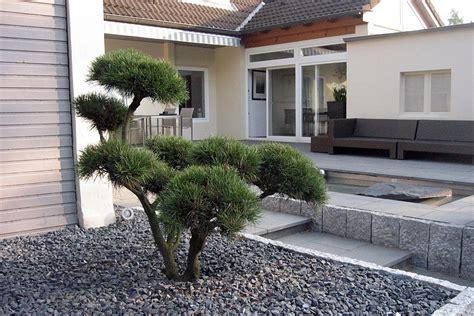 vorgartengestaltung mit kies und buchsbaum turbotech co
