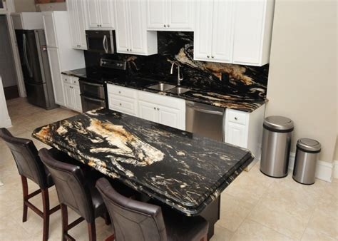 Kitchen Backsplash And Countertop Ideas titanium granite kitchen project details and pictures