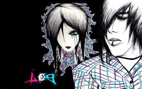 imagenes de los emo imagenes de emos de dibujos de amor muy bonitas imagenes