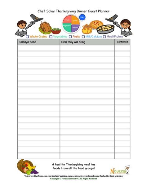 potluck menu template search results for pot luck sign up sheet