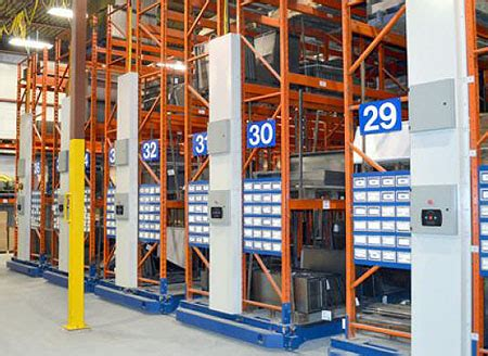 Industrial Rack Systems by Compress Storage With Mobile Aisle Systems