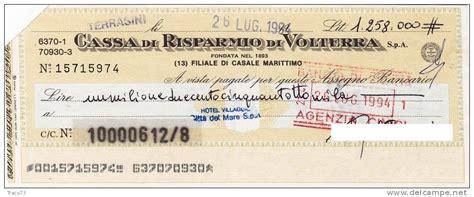 assegno d italia d america e d italia assegno circolare fino a 3