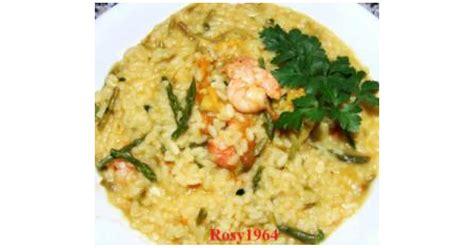 risotto con fiori di zucca bimby risotto con gamberetti asparagi e fiori di zucca by