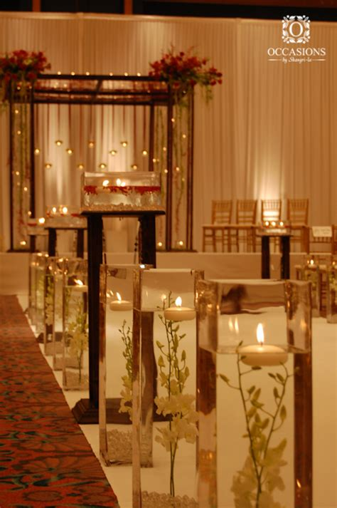 aisle decor occasions by shangri la wedding decorations