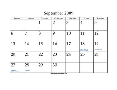 september  calendar  jewish holidays