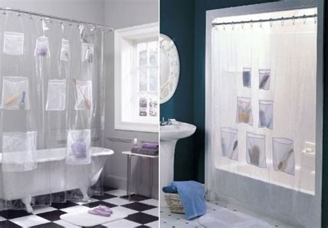 vorhang mit taschen creative duschvorhaenge kunstop de