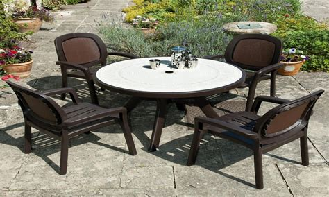garden patio table and chairs resin patio furniture sets