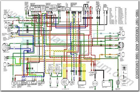 85 honda rebel wiring diagram wiring diagram and fuse