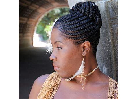 cherokee braids khamit kinks signature cherokee cornrows styled into