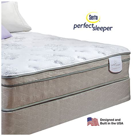 Big Lots Mattress And Box Springs by Serta 174 Sleeper 174 Davis Eurotop Premium Quality Mattress Box Set Big Lots