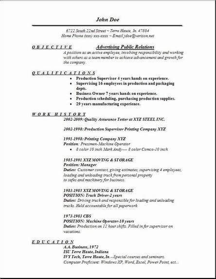 resume objective exles relations advertising relations resume occupational exles sles free edit with word