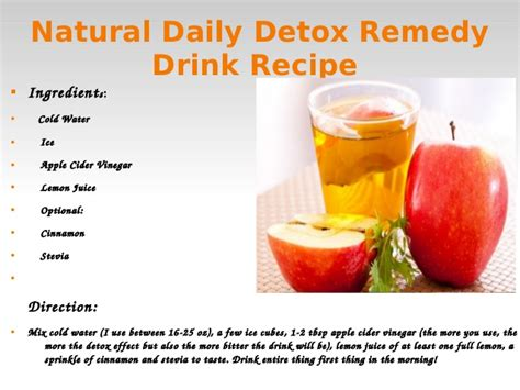 Lemon Water Daily Detox by Water Detoxing For Weight Loss