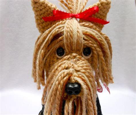 crochet pattern yorkshire terrier items similar to yorkshire terrier crochet dog canine