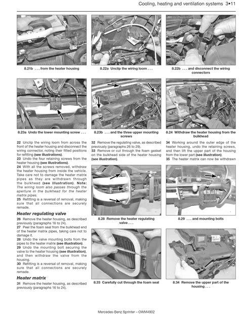 haynes mercedes benz sprinter van manual mercedes benz sprinter diesel 95 apr 06 haynes repair manual haynes publishing