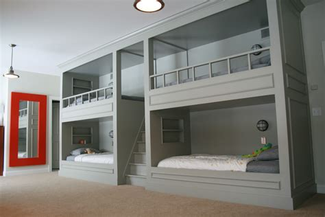 Bunk Bedroom Ideas August Fields Boy Bunk Room