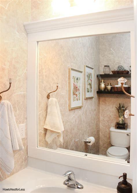 Navy Blue Bathroom Ideas powder room makeover how to nest for less
