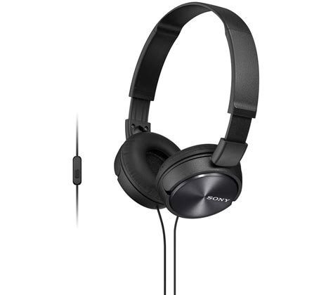 Headset Sony Dr 310 buy sony mdr zx310apb headphones black free delivery currys
