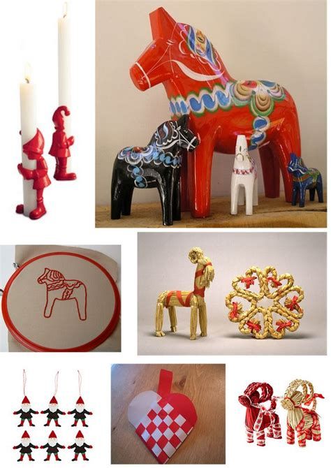 swedish christmas decorations festival collections