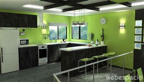 casas cocinas mueble muebles de cocina de colores cocinas en color verde diseno casa