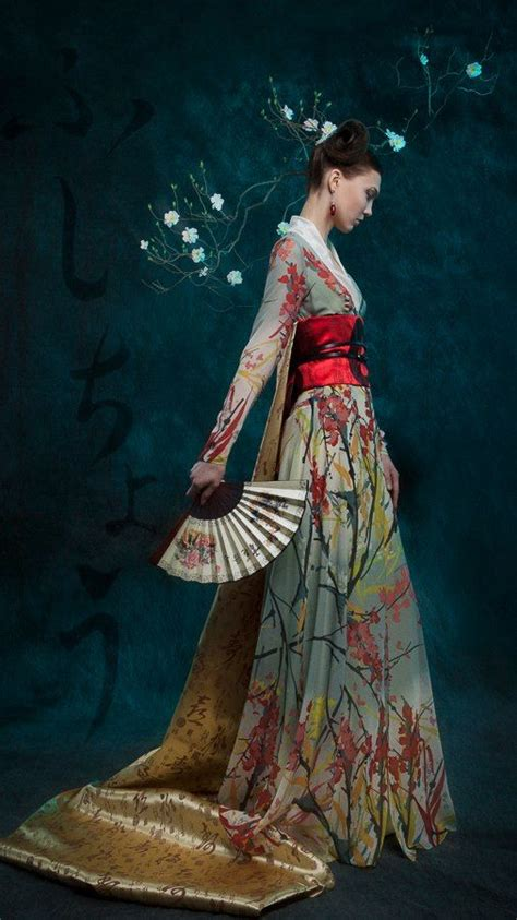 Style Inspiration Asia by Kimono What If The Wedding Has A Japan Style I