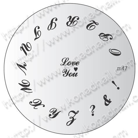 Magico Nail Sticker M1 M5 konad sting nail schablonen ab fr 7 00