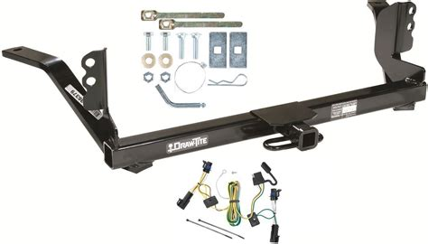 hitch central 187 trailer w wiring kit fits hitch free