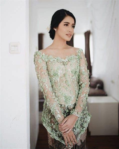 kebaya modern images  pinterest party dress