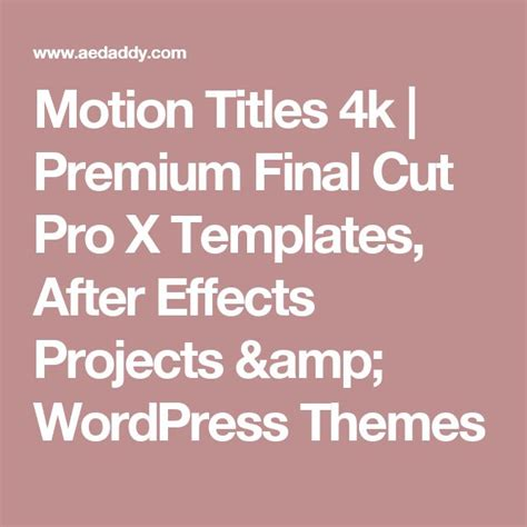 best 25 after effects projects ideas on pinterest
