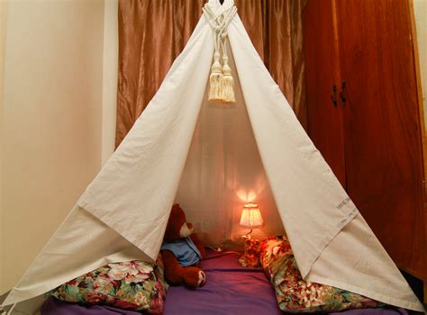 teepee bed how to make a teepee bed nook 10 steps with pictures wikihow
