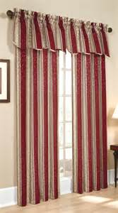 Wine Colored Curtains Whitfield Stripe Curtains Style 6803 Lorraine Home Fashions View All Curtains