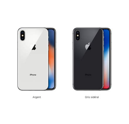 smartphone apple iphone x factice de demonstration boutique pour smartphone