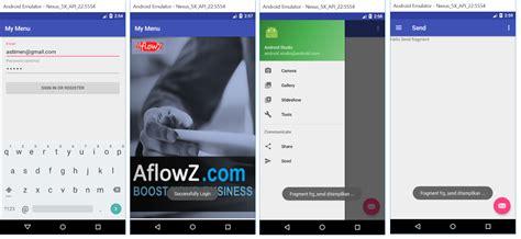 tutorial android studio indonesia android studio indonesia dua methode pemanggilan fragment