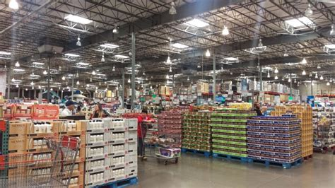 costco warehouse shopping costco members try sam s club for free this week one mile at a time