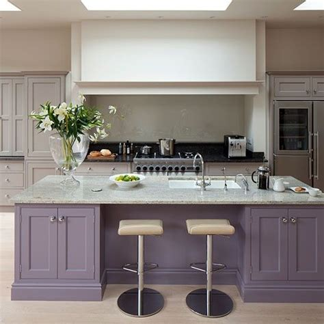 purple kitchen ideas glamorous grey and purple kitchen with island purple