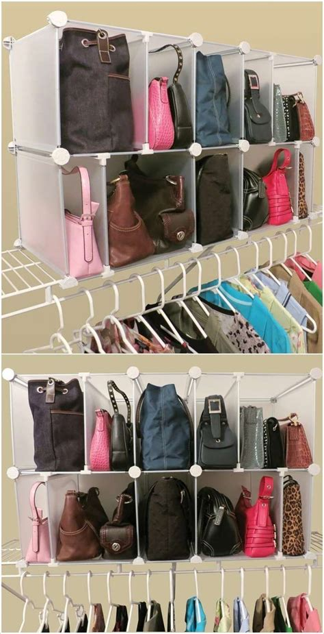 How To Organise Bags In Closet by Best 25 Purse Storage Ideas On Handbag