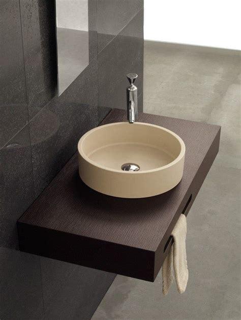 encimeras de lavabo de resina encimera de resina con faldon y toallero lavabo resina