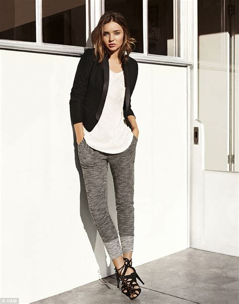 Hm New Looks For by Revealed Miranda Kerr Makes High Look High Fashion