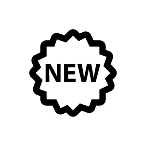 new year images black and white new black and white label vector icons free
