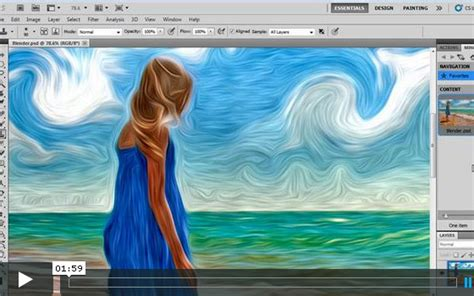 oil painting tutorial photoshop cs5 35 creation of illustrator cs5 tutorials web3mantra