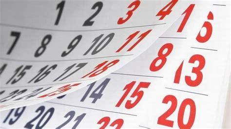 kalender  inilah daftar hari libur nasional