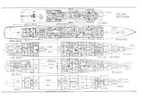 ship floor plan free boat blueprints bing images shipping pinterest