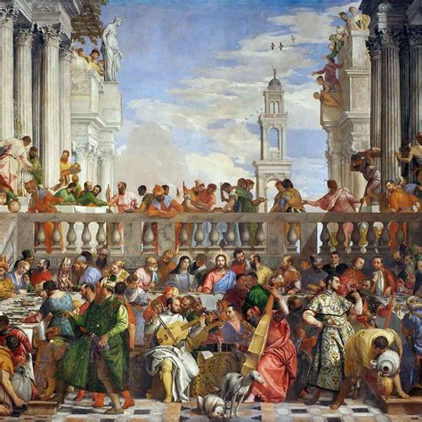 The Wedding At Cana Greenaway by Paolo Veronese The Wedding At Cana A Vision By