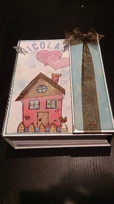 tutorial scrapbooking scrap mary baby boy scrapbooking album regalo personalizado para