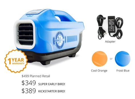 Zero Breeze   The World?s Coolest Portable AC Unit: Purchase Now   Locodor