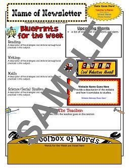 62 Best Construction Classroom Theme Images On Pinterest Classroom Ideas School Themes And Construction Newsletter Template